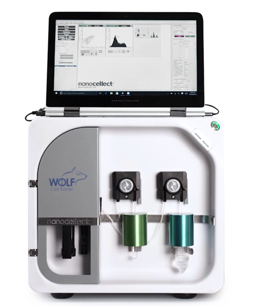 WOLF cell sorter