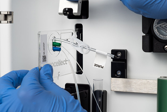 Nanocellect cartridge insert