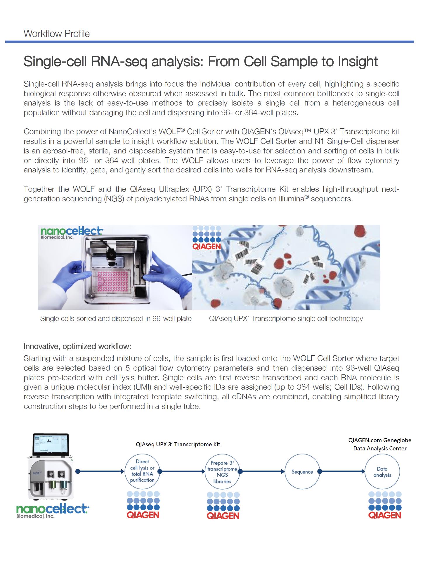 Scientific Content – NanoCellect